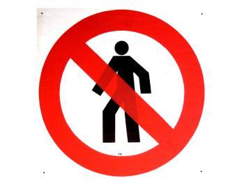 Durchgang verboten gross