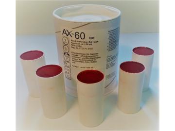 5 Rauchpatronen AX 60 rot