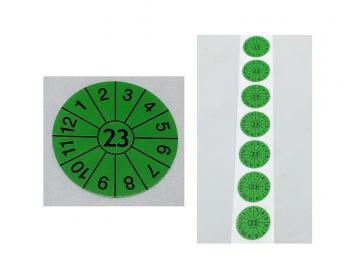 Prüfplaketten grün