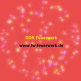 DDR Feuerwerk